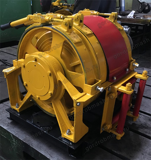 Лебедка шахтная вспомогательная 1ЛШВ-01