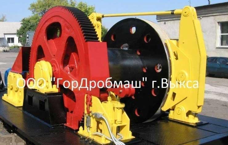 Лебёдка полковая проходческая ЛПЭ 160-1500У (ЛПЭП 16-1500)