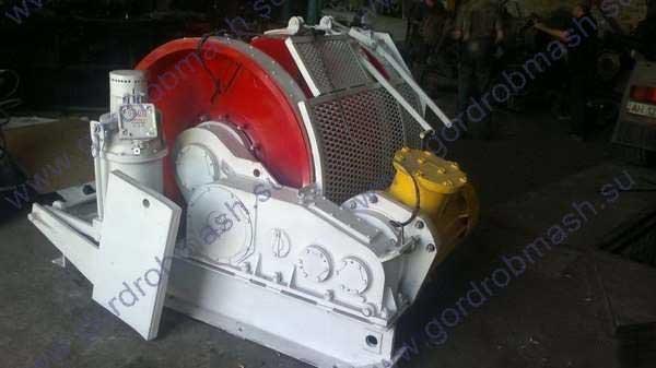 Лебедка вспомогательная ЛВ-45