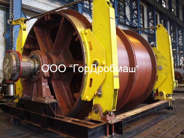 Подъемная машина Ц-3,5х2,2